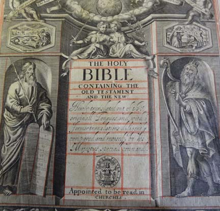 18Th Century Bible Sold For £980