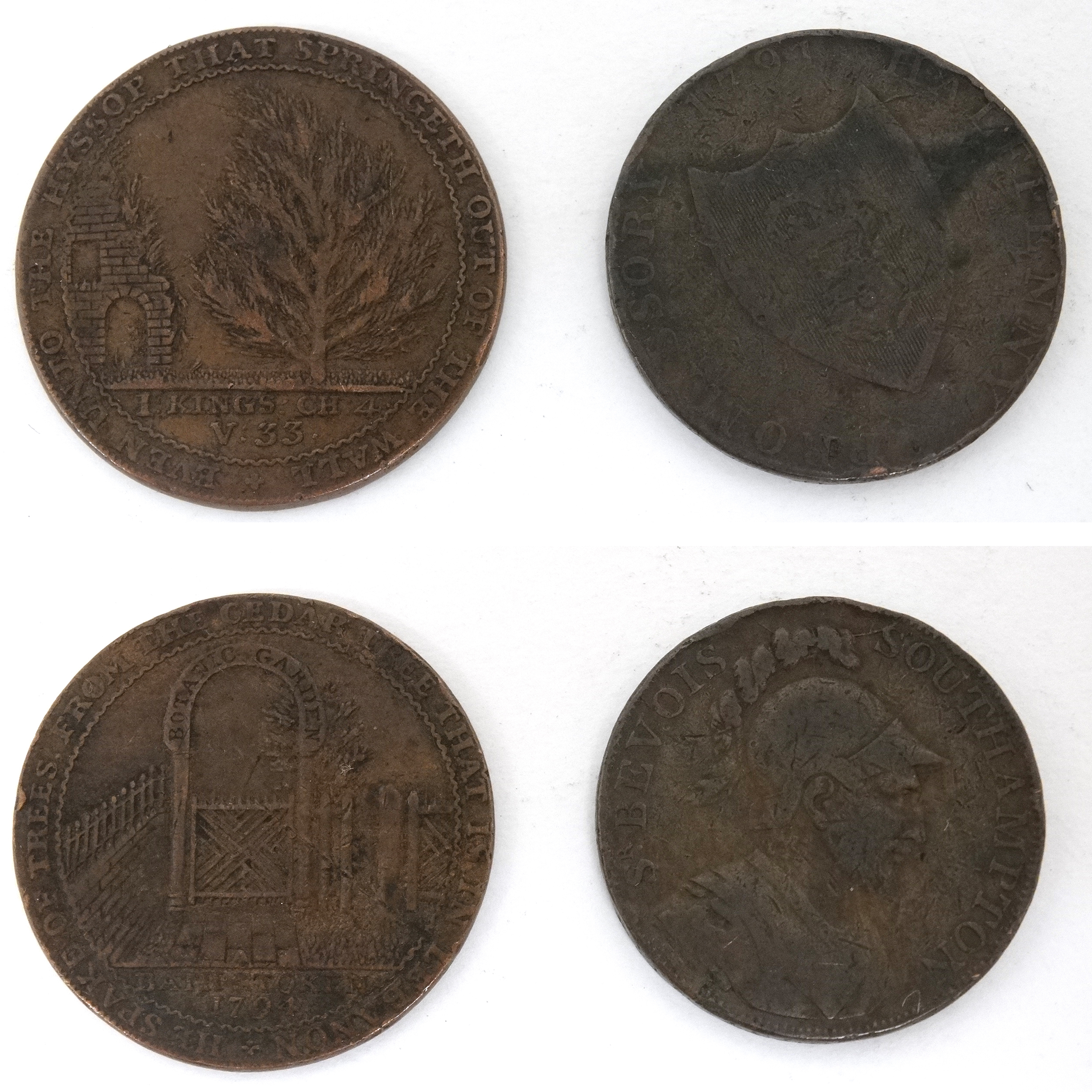 4 18Thc Trade Tokens Sold For £650 S