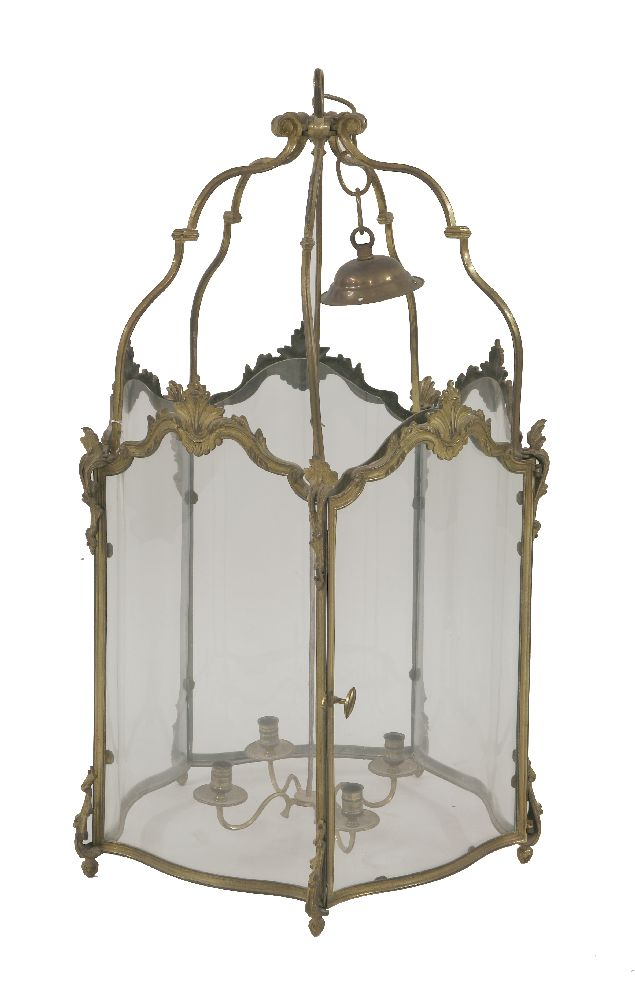 Victorian Hall Lantern Sold For £400