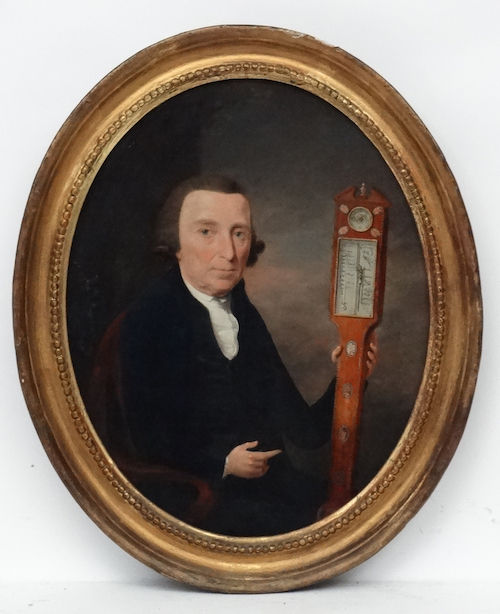 Thomas Hickey 1741 1824, Oil On Panel, Portrait Of Thomas Lomas, £1500